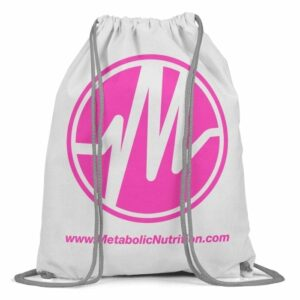 Metabolic Nutrition Drawstring Bag - Pink-0