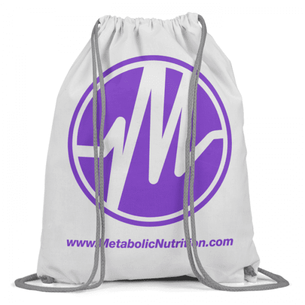 Metabolic Nutrition Drawstring Bag - Purple-0