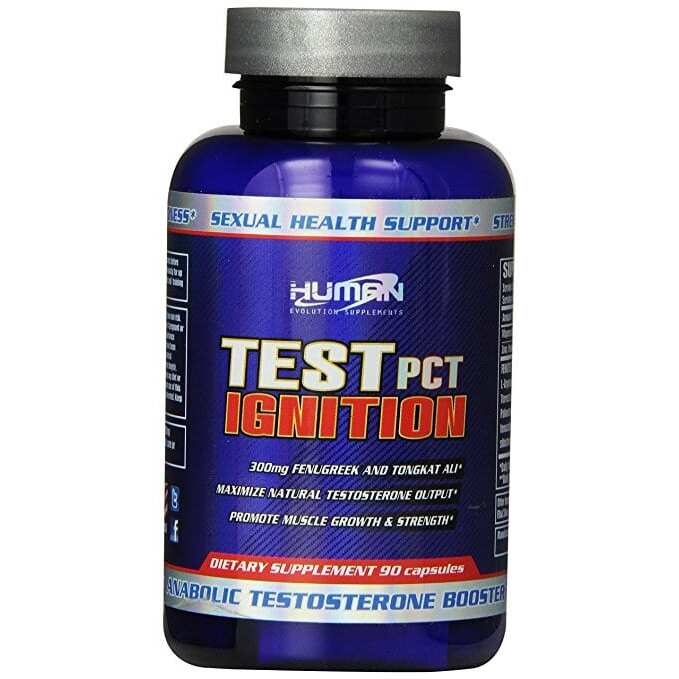 Test PCT Ignition by Human Evo USA - 90 Capsules - EXP 2/18-0