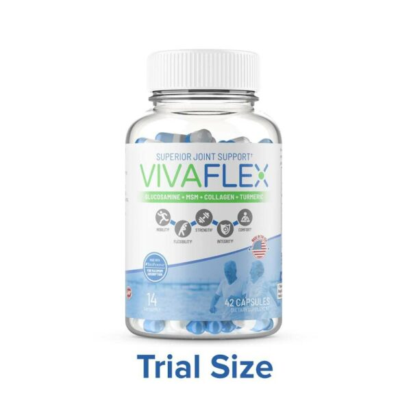 VivaFlex Superior Joint Support - 14 Day Trial Size 42 Capsules-0