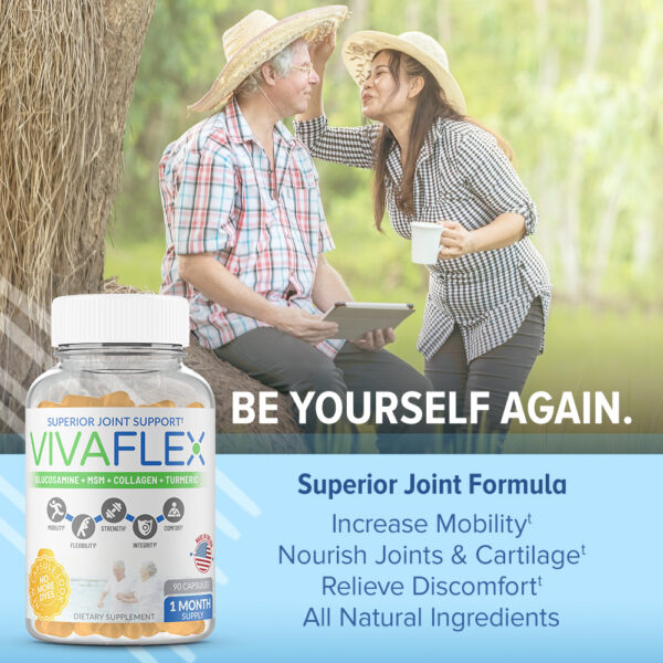 VivaFlex Superior Joint Support - 90 Capsules-3104