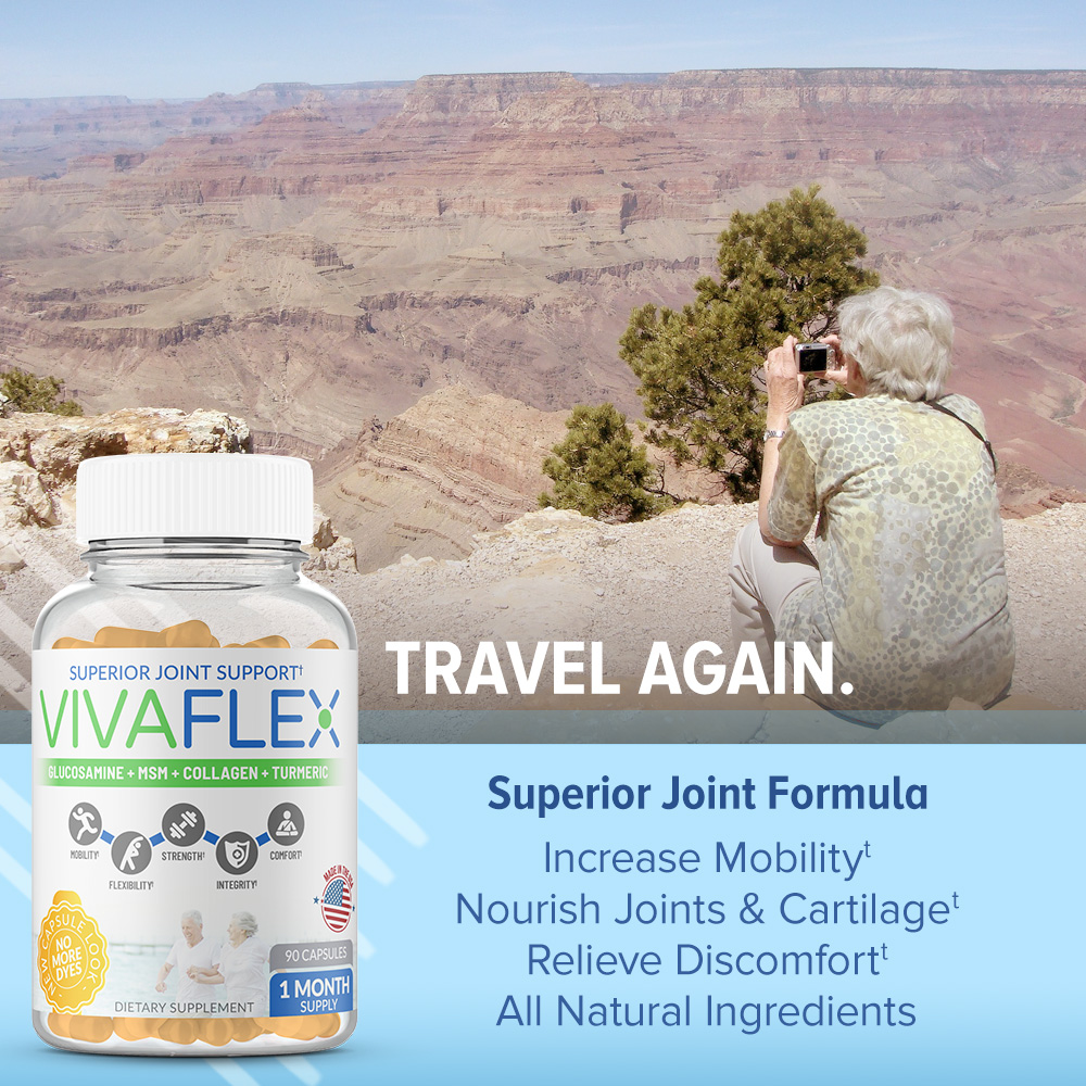VivaFlex Superior Joint Support - 90 Capsules-3106