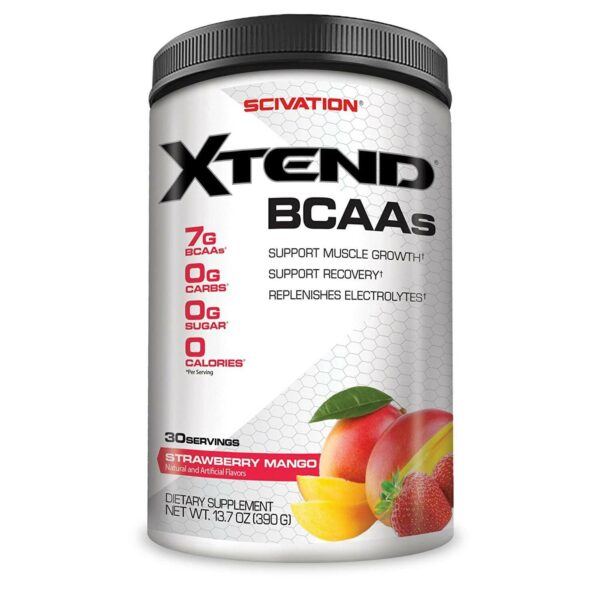 Scivation Xtend BCAAs - Strawberry Mango - 30s-0
