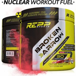 Repp Sports Broken Arrow - Elite Pre-Workout - Spiked Punch ‑ 30 Servings-0