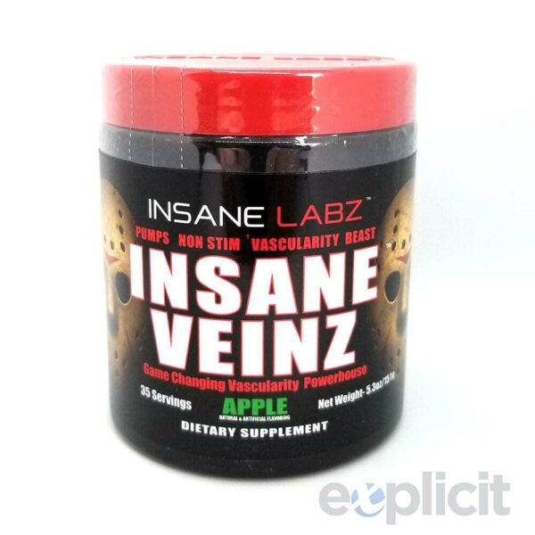 Insane Veinz - Apple - 35 Servings - Insane Labz-0