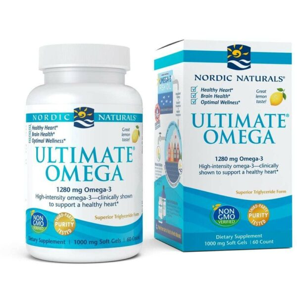 Nordic Naturals Ultimate Omega - Support for a Healthy Heart - 60 Soft Gels-0