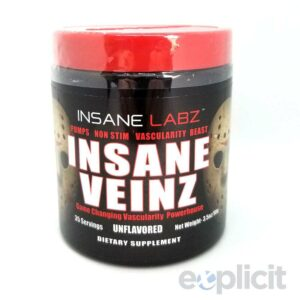 Insane Veinz - Unflavored - 35 Servings - Insane Labz-0