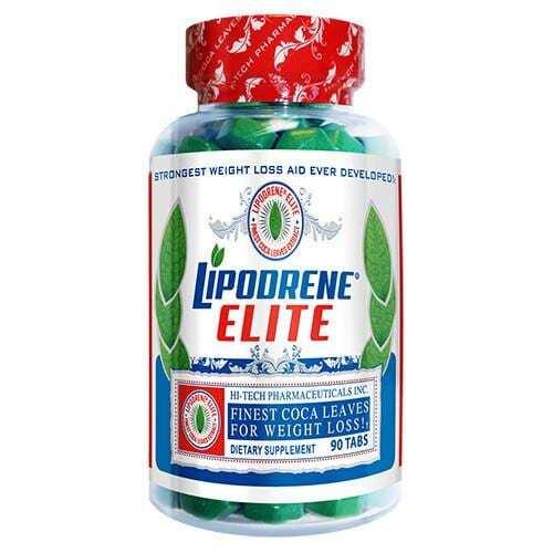 Lipodrene Elite with Coca Leaves - 90 Tablets-0