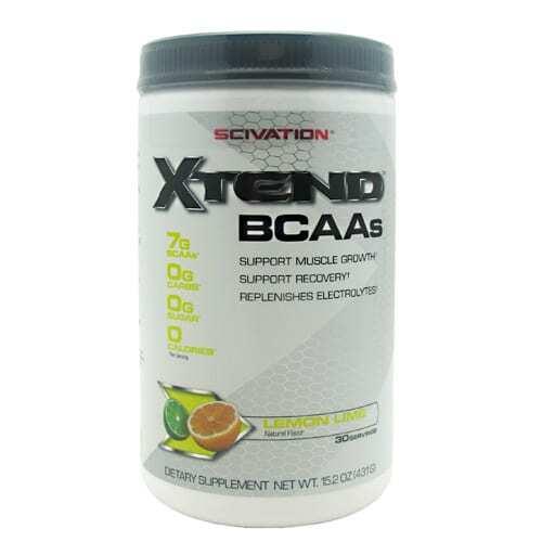 Scivation Xtend BCAAs - Lemon Lime - 30s-0