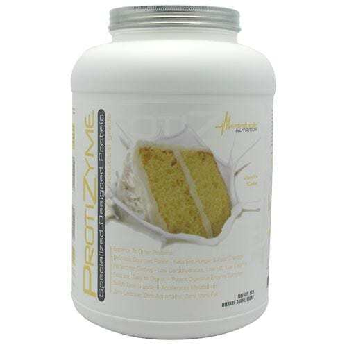 Metabolic Nutrition Protizyme, Vanilla Cake, 5 Pound-0