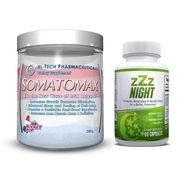 Somatomax Rocket Pop & zZz Night - Restful Sleep Combo-0