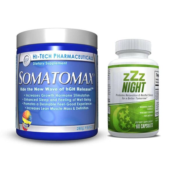 Somatomax Snow Cone & zZz Night - Restful Sleep Combo-0