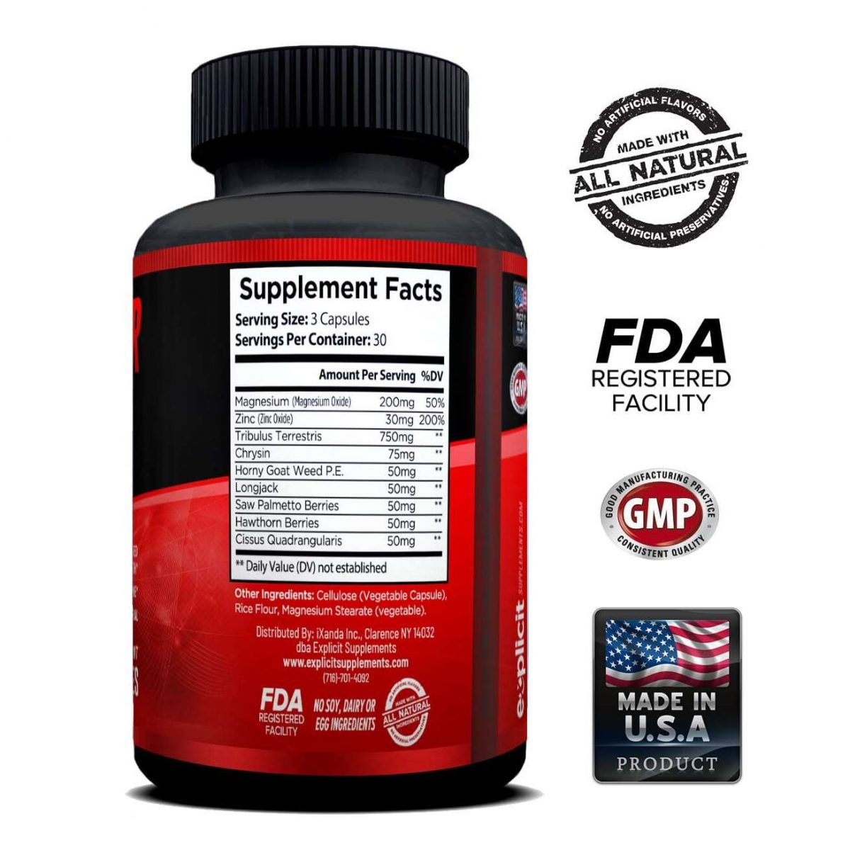 Clear Muscle (168 Capsules) & Raw Power (90 Capsules) - Superior Muscle Building Stack-3068