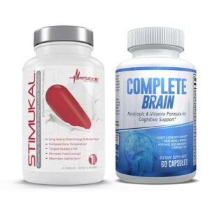 Stimukal & CompleteBrain Nootropic - Ultimate Weight Loss Combo-0