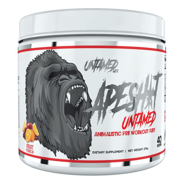 Primeval Labs Ape Sh*t Untamed - Pre-Workout - Fruit Punch - 20/40 Servings-0
