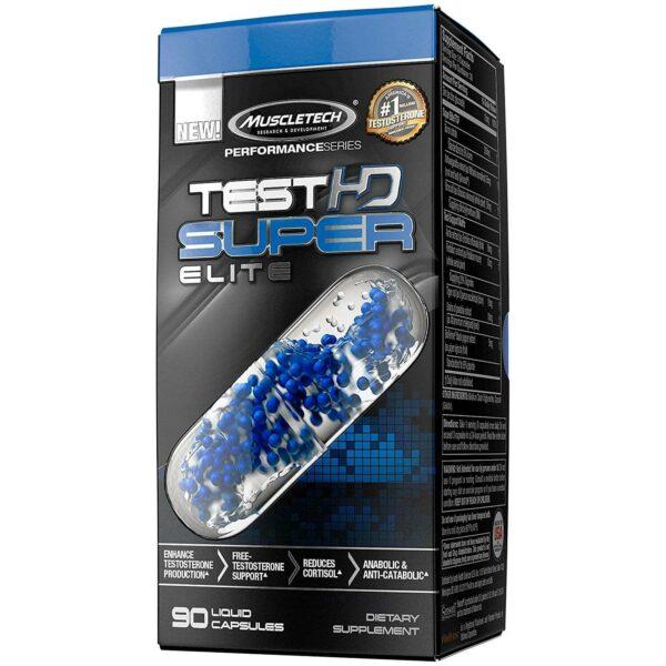 Muscletech Test HD Super Elite - 90 Liquid Caps-0