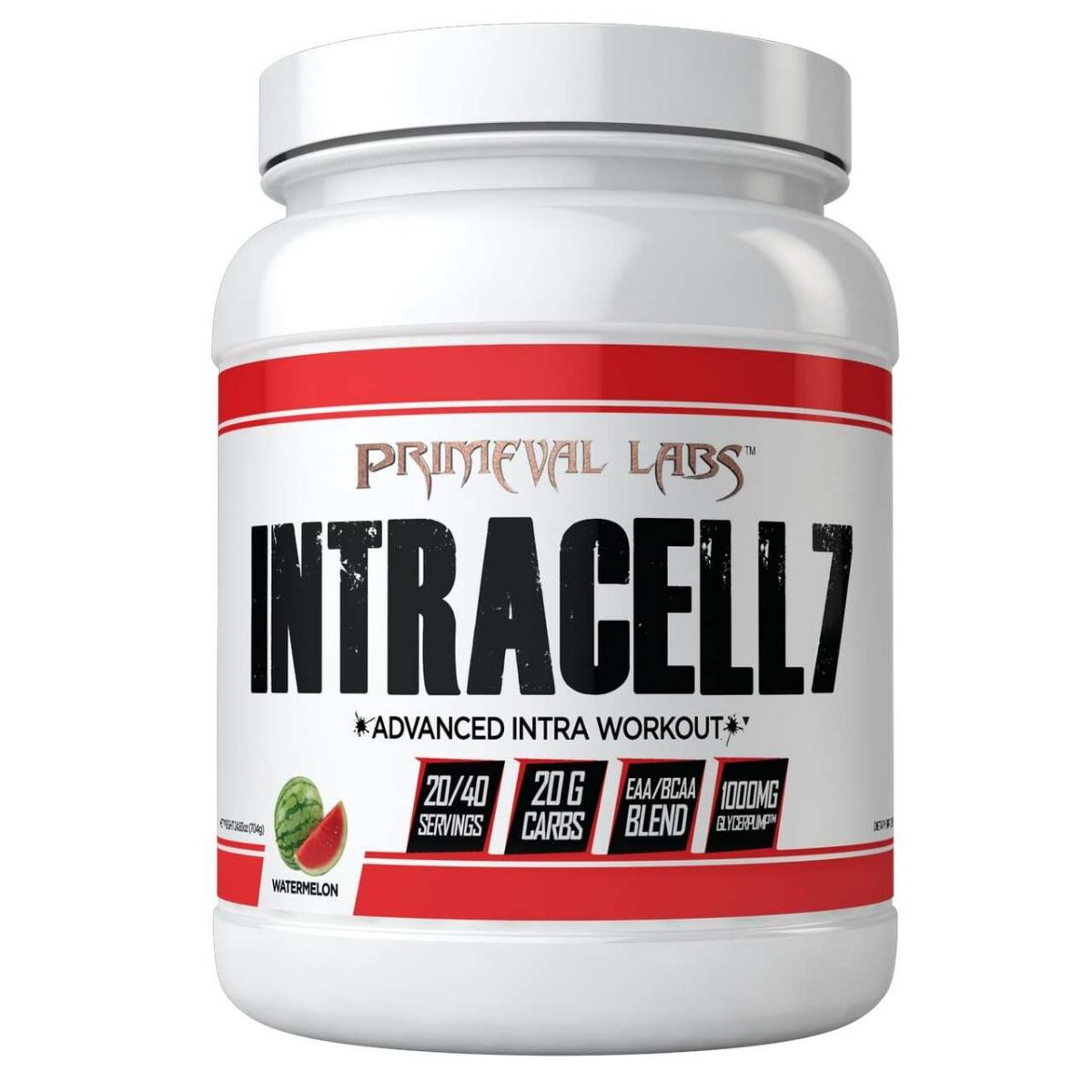 Primeval Labs Intracell 7 - Watermelon - 20/40 Servings-0