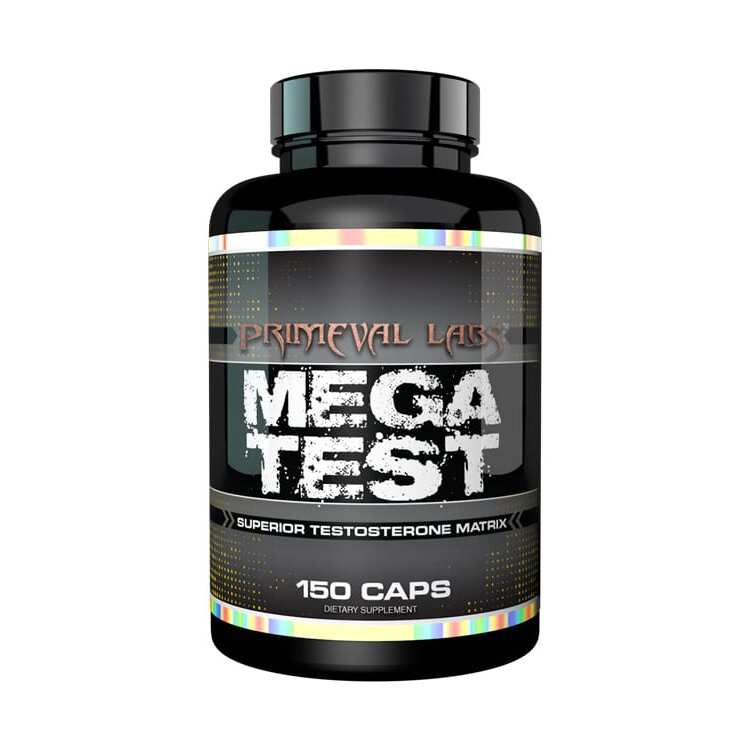Primeval Labs Mega Test - Superior Testosterone - 30 Servings-0