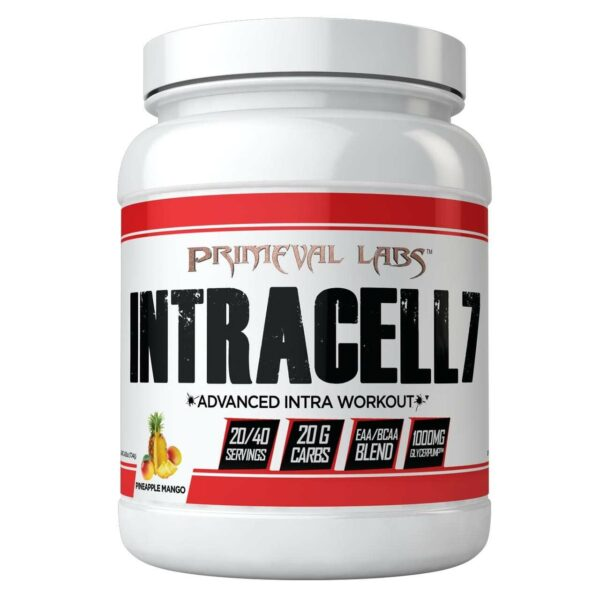Primeval Labs Intracell 7 - Pineapple Mango - 20/40 Servings-0