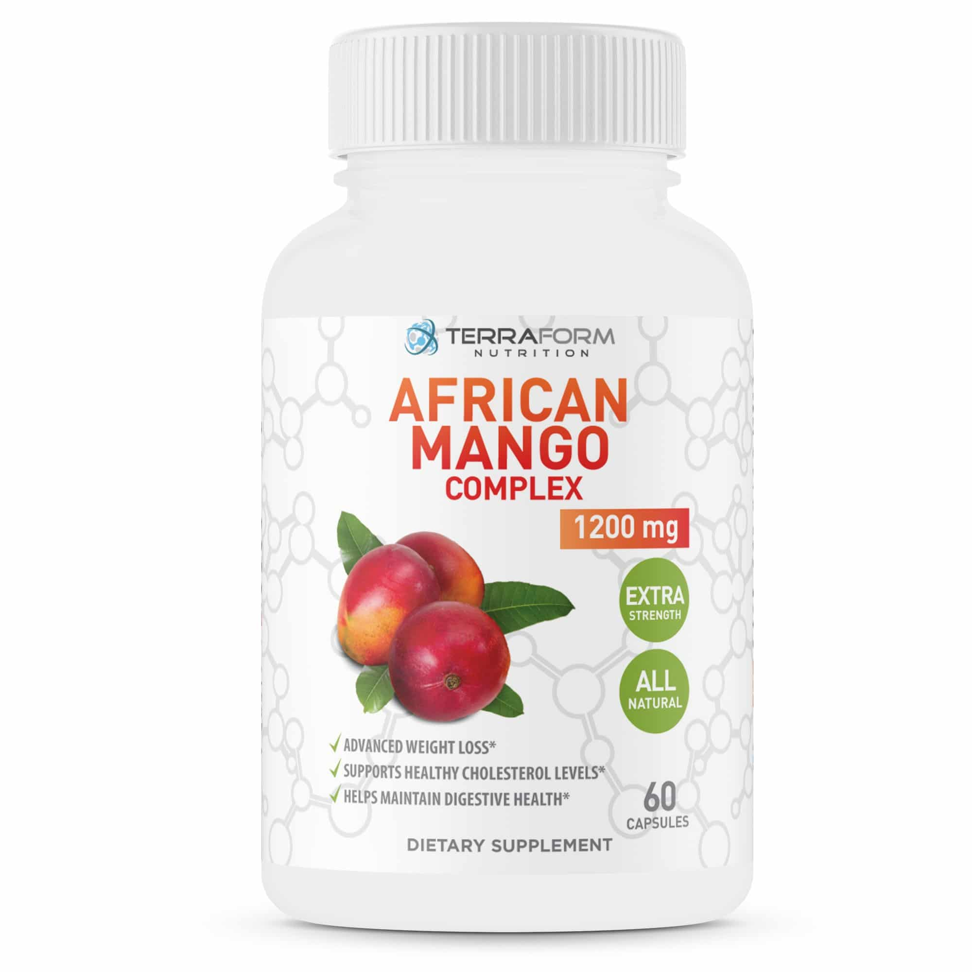 African Mango Complex Diet Pills 1 Month Terraform Nutrition