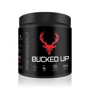 Bucked Up Pre Workout - Blood Raz - 30 Servings - DAS Labs-0