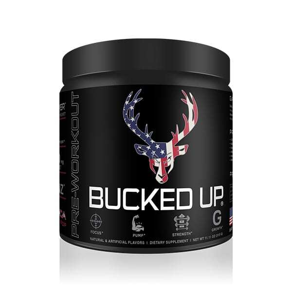 Bucked Up Pre Workout - Rocket Pop - 30 Servings - DAS Labs-0