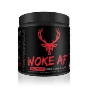 Woke AF - High Stimulant - Blood Raz - 30 Servings - DAS Labs-0