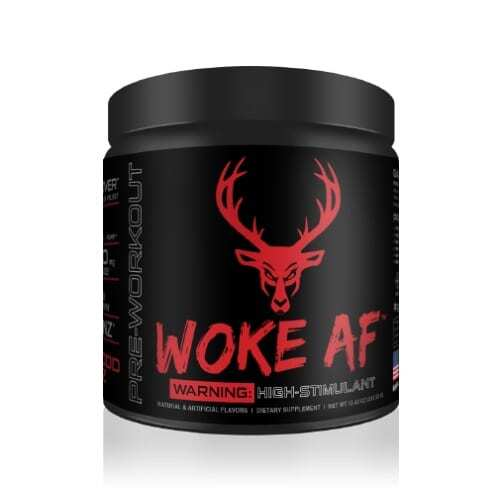 Woke AF - High Stimulant - Blood Raz - 30 Servings - DAS Labs-0