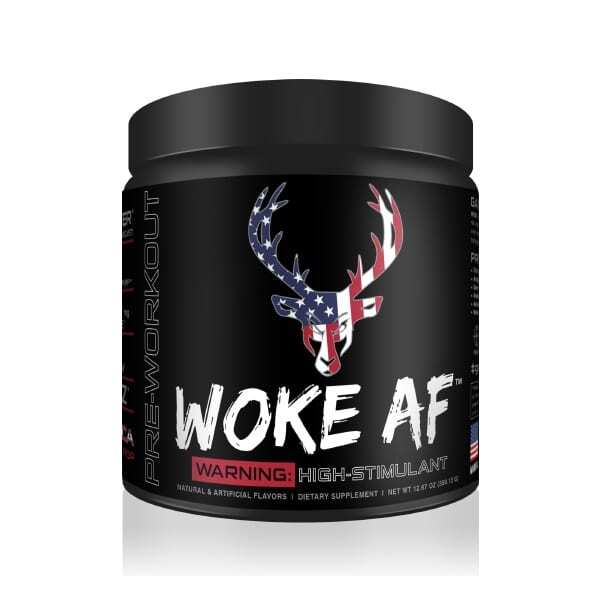 Woke AF - High Stimulant - Rocket Pop - 30 Servings - DAS Labs-0
