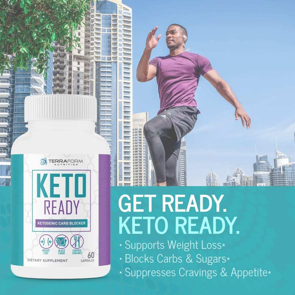 Keto Ready - Max Strength Keto Carb Blocker 1200mg – 60 Capsules - TerraForm Nutrition-3326