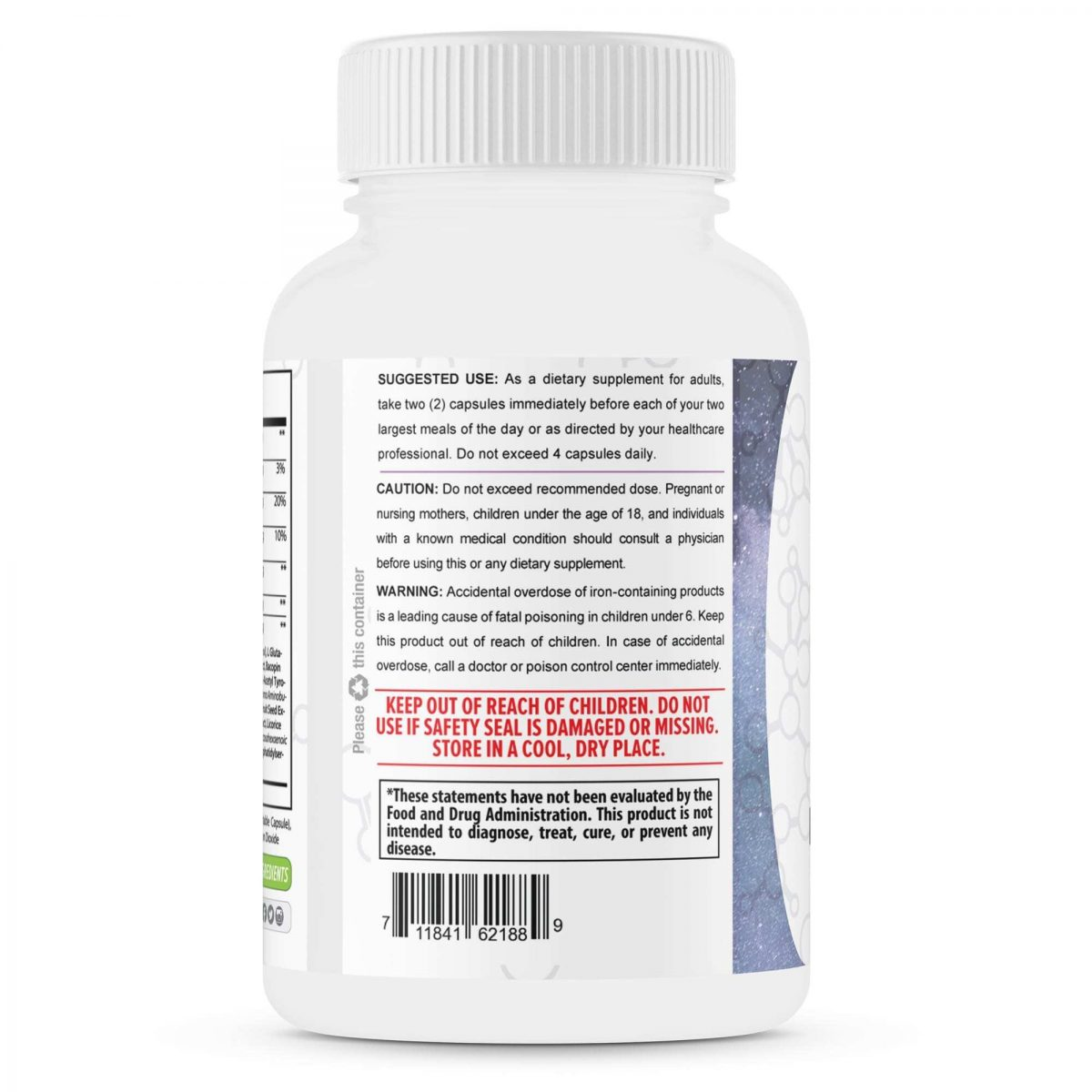 Powerful Nootropics – Neuro Capsules - 60 Capsules - TerraForm Nutrition-3339