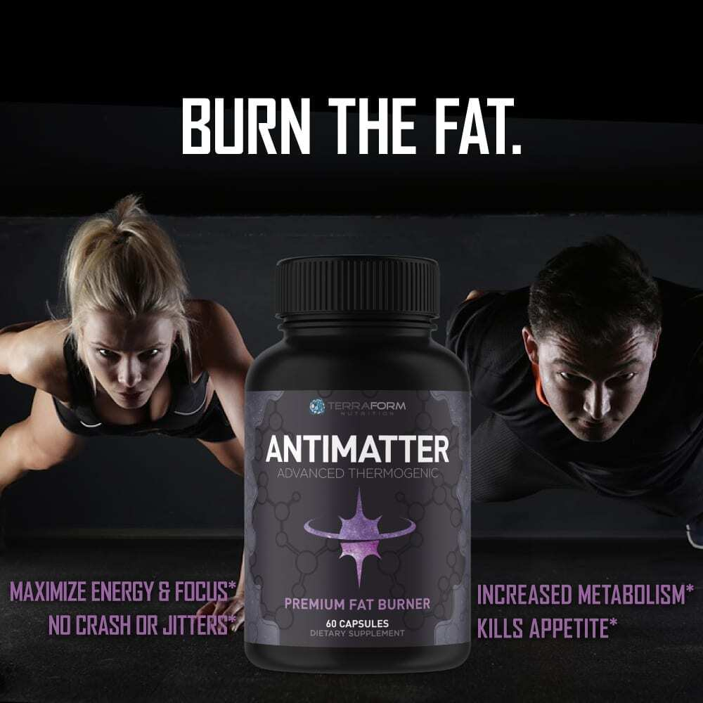 Premium Thermogenic Fat Burner - Antimatter - 60 Capsules - TerraForm Nutrition-3356