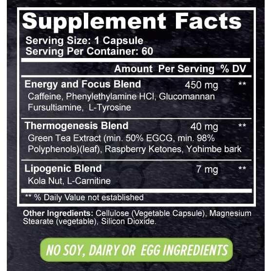 Premium Thermogenic Fat Burner - Antimatter - 60 Capsules - TerraForm Nutrition-3357