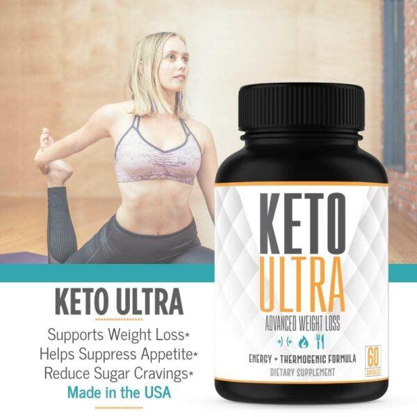 Keto Ultra – Powerful Keto Diet Pills – 60 Capsules-3369