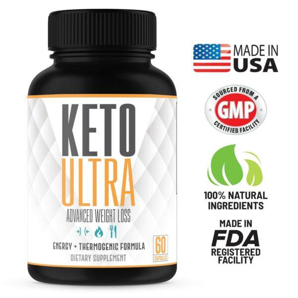 Keto Ultra – Powerful Keto Diet Pills – 60 Capsules-3366