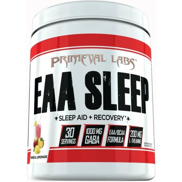 Primeval Labs EAA Sleep - Sleep Aid - Recovery - Tropical Lemonade 30 Servings-0