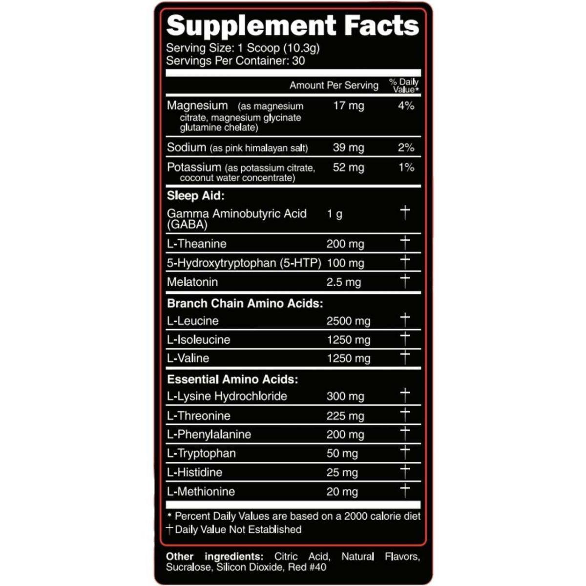 Primeval Labs EAA Sleep - Sleep Aid - Recovery - Tropical Lemonade 30 Servings-3380
