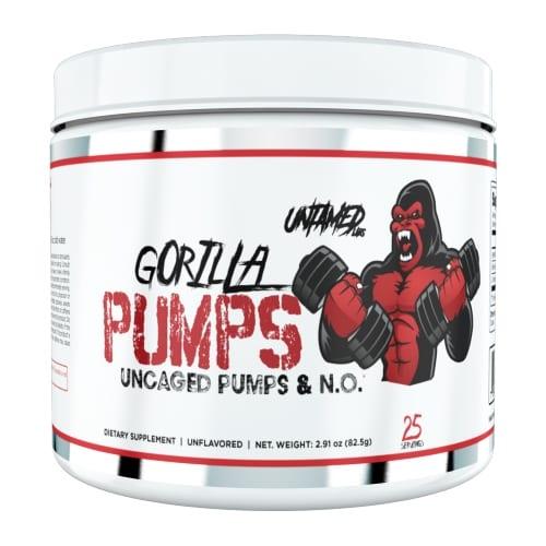 Untamed Labs Gorilla Pumps - Pre Workout - Unflavored - 25 Servings-0