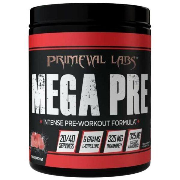 Primeval Labs Mega Pre Black - Pink Stardust - 20/40 Servings-0