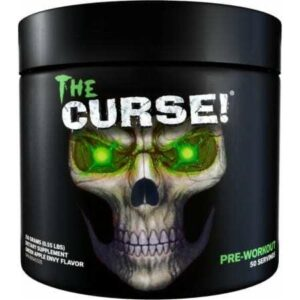 The Curse - Pre Workout - Green Apple Envy - Cobra Labs - 50 Servings-0