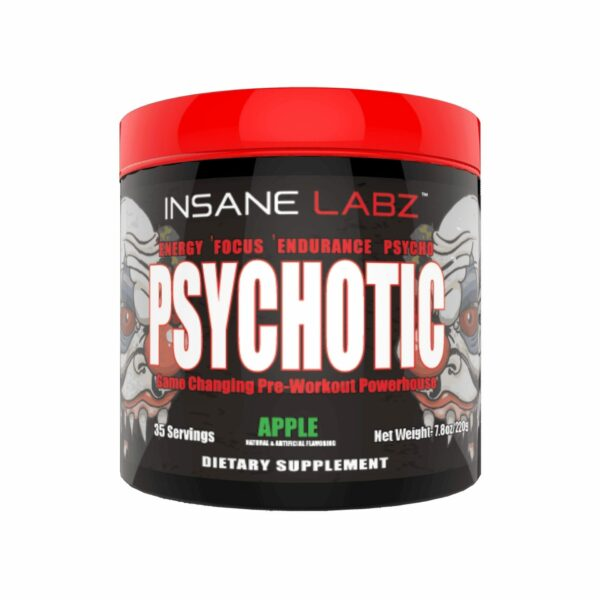 Psychotic Pre Workout by Insane Labz - All Flavors - 35 Servings-3439