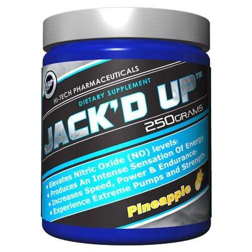 Jack'd Up by Hi-Tech Pharmaceuticals - All Flavors - 45 Servings -3511