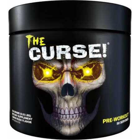 The Curse Pre Workout - All Flavors - Cobra Labs - 50 Servings-3492