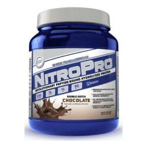 NitroPro Hydrolyzed Whey Protein - Double Dutch Chocolate - 1 Lb - High-Tech-0