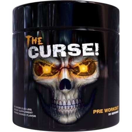 The Curse - Pre Workout - Orange Mango - Cobra Labs - 50 Servings-0