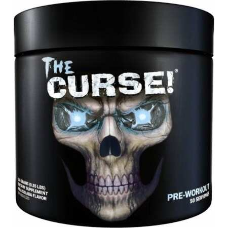 The Curse Pre Workout - All Flavors - Cobra Labs - 50 Servings-3494