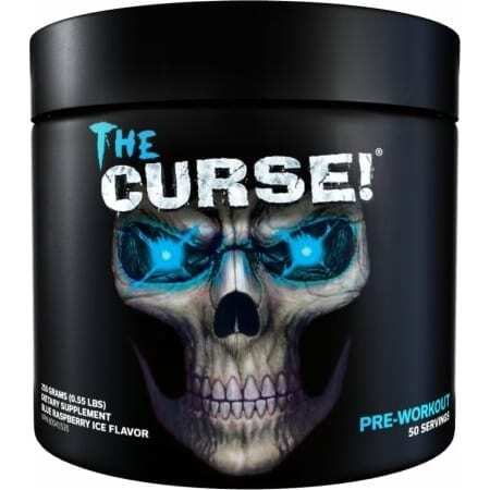 The Curse - Pre Workout - Blue Raspberry Ice - Cobra Labs - 50 Servings-0