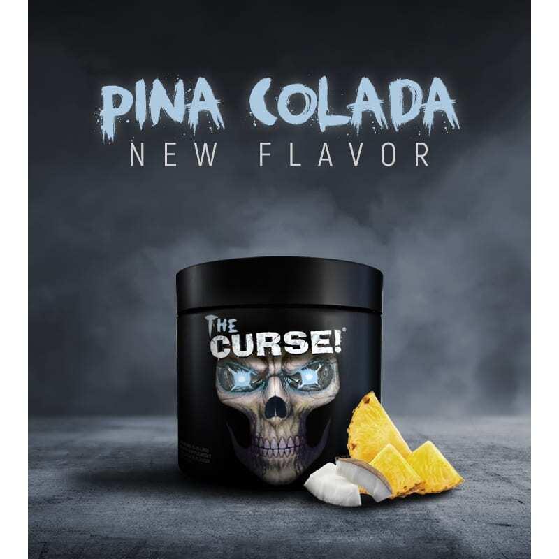 The Curse - Pre Workout - Pina Colada - Cobra Labs - 50 Servings-3490