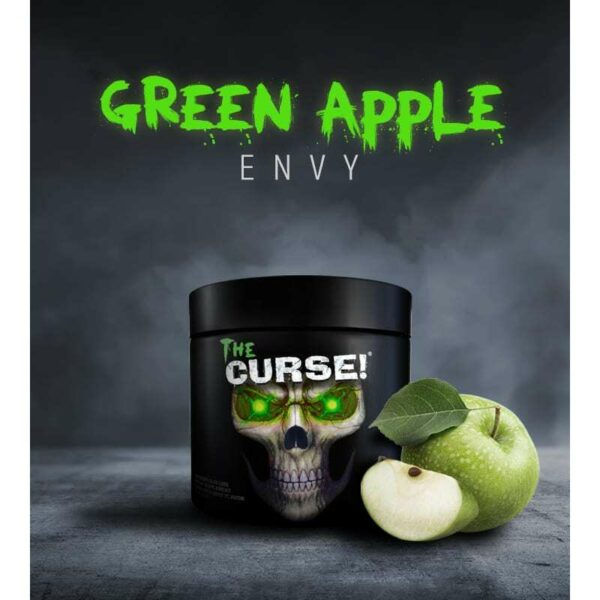 The Curse - Pre Workout - Green Apple Envy - Cobra Labs - 50 Servings-3468