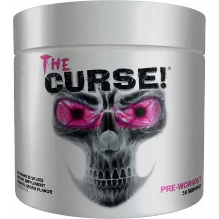 The Curse Pre Workout - All Flavors - Cobra Labs - 50 Servings-3497